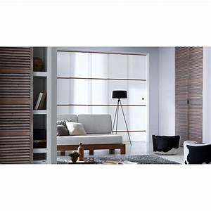 Panneau Japonais Design : panneau japonais tamisant blanc barres ch ne ~ Melissatoandfro.com Idées de Décoration