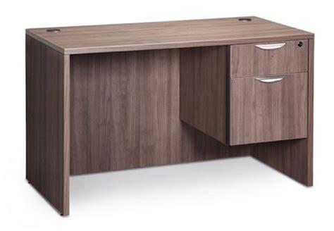 bureau classique bureau classique 48 quot de large avec choix de caisson simple