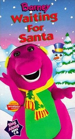 Barney And The Backyard Vhs by Barney The Backyard Waiting For Santa Twilight