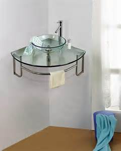 Small Bathroom Corner Sink Ideas by Corner Bathroom Sinks Creating Space Saving Modern