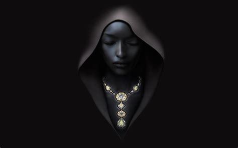 artwork women ebony minimalism black wallpapers hd