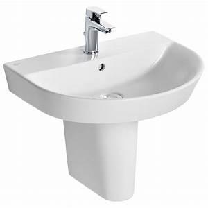 Ideal Standard : ideal standard concept air arc 600 x 460mm washbasin e138501 ~ Orissabook.com Haus und Dekorationen