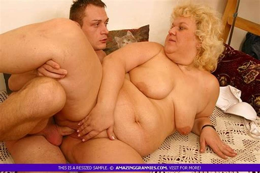 #Good #Looking #Fat #Granny #Is #Kindly #Fucked #By #Some #Young