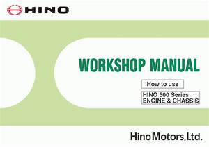 Hino Workshop Manual 500 Series