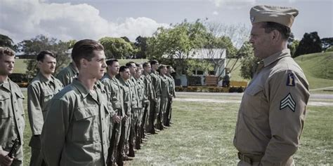 The film then begins an extended flashback he lacks the grit to be truly menacing, coming across more as a grumpy gym teacher. Hacksaw Ridge: How Mel Gibson Paid Tribute To A War Hero