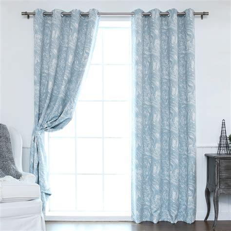 Best Curtain Panels by Best Home Fashion Inc Marble Print Room Darkening