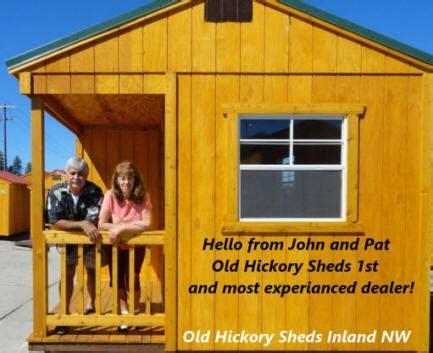 Old Hickory Sheds ~ UTAH Barns Cabins Garage Storage UT