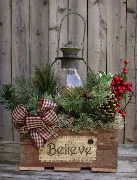 25 best ideas about country christmas crafts on pinterest