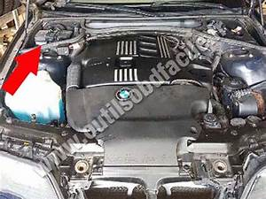 Obd2 Connector Location In Bmw Serie 3 E46  1998