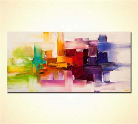 Painting For Sale Colorful Modern Abstract Art Textured