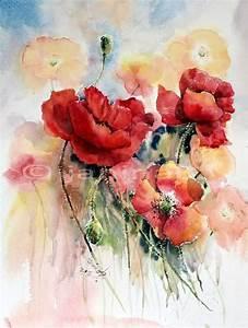 Aquarell Blumen Malen : 69 besten my artist janina b bilder auf pinterest aquarelltechnik wasserfarben und ~ Frokenaadalensverden.com Haus und Dekorationen