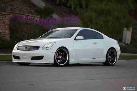 Find Used Custom Infiniti G35 Coupe Sport Ip Bose Nismo