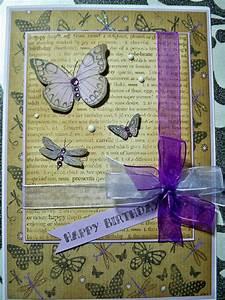 Fabriquer Carte Anniversaire : fabriquer carte anniversaire 70 photo de carte fait main ~ Melissatoandfro.com Idées de Décoration