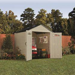 Roughneck 7x7 Shed by Rubbermaid Roughneck X Large 7 X 7 Gable Storage Shed