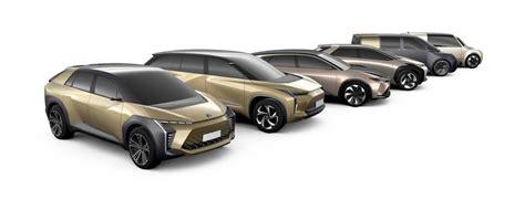 tnga toyota devoile leur gamme de voiture electrique