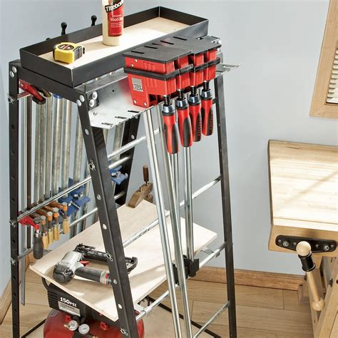 clamp rack combo  rack set rockler woodworking tools