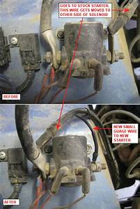 New Gear Reduction Starter Install