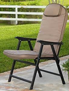 amazon com extra wide folding padded outdoor chair
