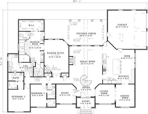 big houses floor plans large ranch home plans smalltowndjs com