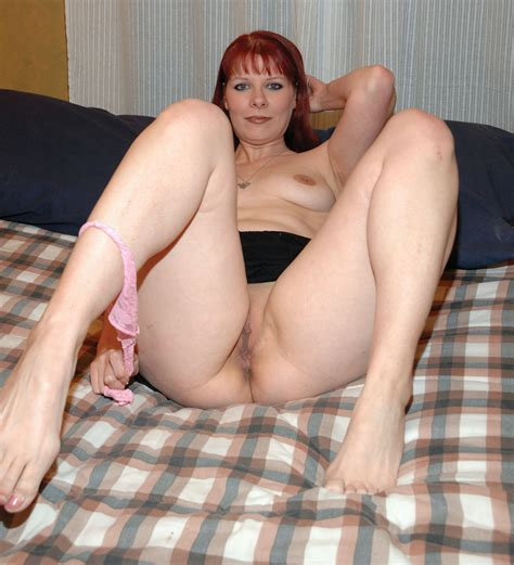 Ginger Open Pussy