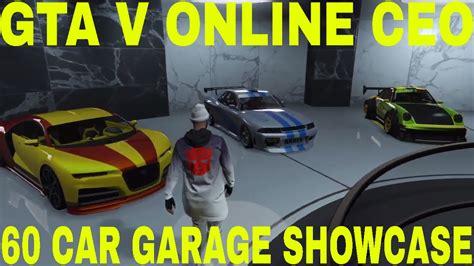 gta v 60 car garage showcase