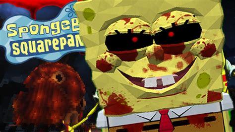 Evil Spongebob.exe Takes Over Bikini Bottom And Scares