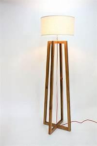 rustic wood floor lamp light fixtures design ideas With majestic z floor lamp