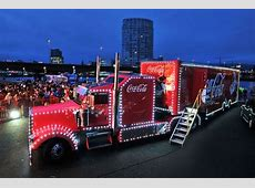 CocaCola Christmas Truck dates 2017 for Belfast and Derry