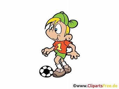 Clipart Kinderfussball Zeichnung Bild Grafik Kostenlos Menschen
