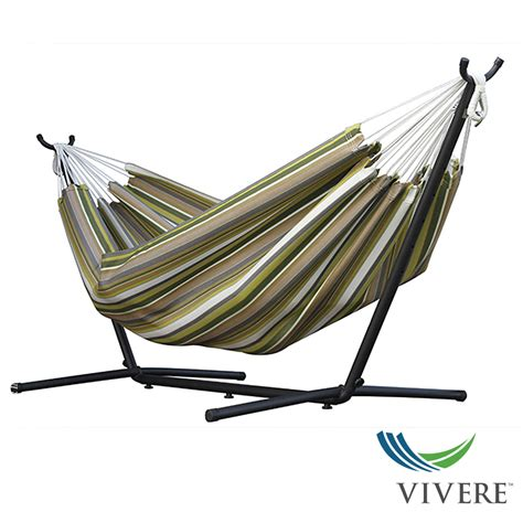 hammock and stand sunbrella hammock with stand combo vivere