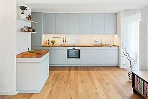 Parkett In Küche : offene k che mit holzarbeitsplatte von lukas palik fotografie homify ~ Markanthonyermac.com Haus und Dekorationen