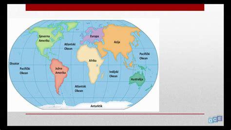Kontinenti i Okeani (7 kontinenata) - YouTube