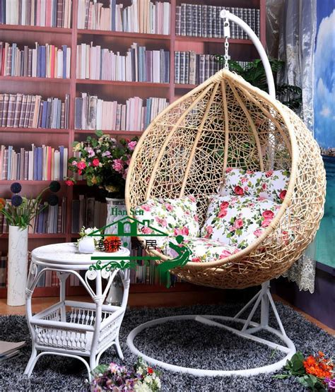 nest basket with armrests rattan wicker chair outdoor