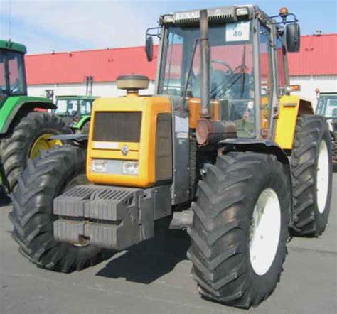 tracteur agricole renault 13354 4 rm 4 rm