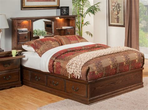 Beds With Bookcase Headboards by Bedroom Furniture Nostalgia Bookcase Headboard