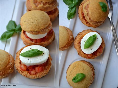 pate a choux sale choux fa 231 on caprese tomate mozzarella l heure du creaml heure du