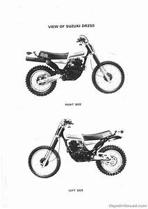 1982  U2013 1985 Suzuki Dr250 Sp250 Motorcycle Service Manual