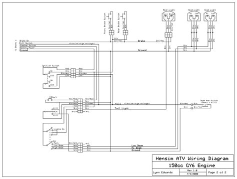 Tao Gy6 Wiring Diagram by Taotao Atv 110 Wiring Diagram Wiring Diagram