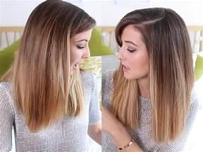 quelle coupe de cheveux pour un visage rond balayage blond ou caramel pour vos cheveux châtains archzine fr
