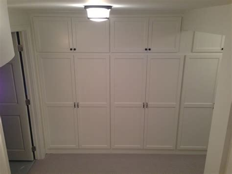 Storage Cabinets For Basement by Basement Remodel Adding More Storage In A Small Space