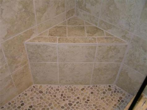 marvelous tips to install corner shower stall with seat