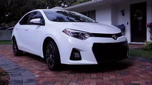2016 White Toyota Corolla S Spotlight Walkaround