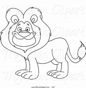 Lion Outline Clipart - Clipart Suggest