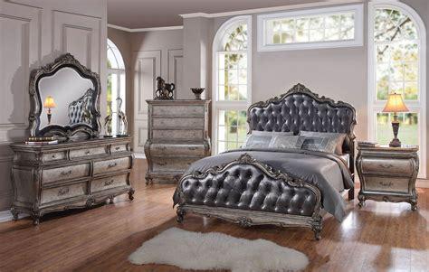 antique platinum royalty bed frame