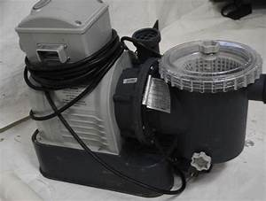 Intex Sand Filter Pump With Gfci For Pools  3000