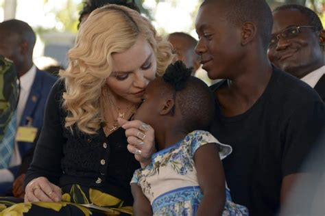 Madonna 'adopted' As Daughter By Malawi As Children's