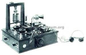 Telephone Transmitter Receiver Trx Marconi Wireless