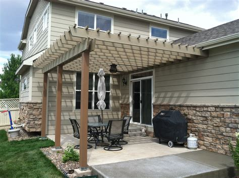 wood duck construction patio covers pergolas