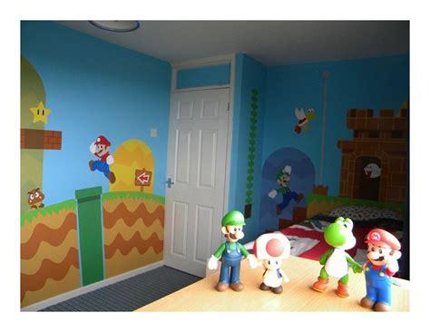 Geek Art Gallery Mural Super Mario Bros Bedroom