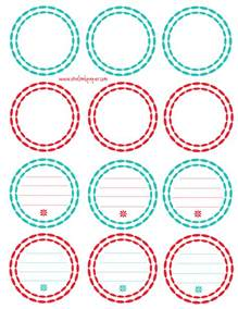 free printable tags new calendar template site